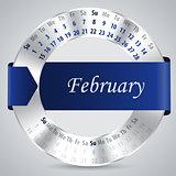 2015 february calendar design