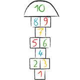Doodle hopscotch