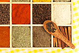 Culinary aromatic spices.