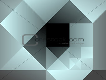 Abstract modern square pattern
