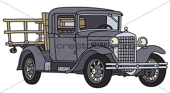 Old lorry truck