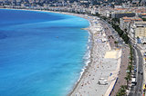 View of Nice seaside