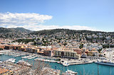 View of Nice harbor