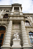 The Museum of art history facade, Vienna