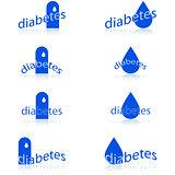 Diabetes icons