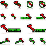 Italy icons