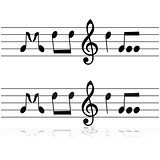 Music in notes