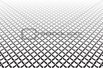 Abstract textured background. Scales texture.