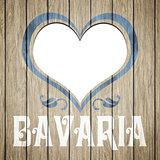 wooden heart Bavaria