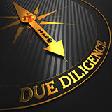 Due Diligence - Golden Compass Needle.