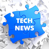 Tech News on Blue Puzzle.