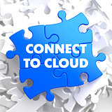 Connect to Cloud on Blue Puzzle.