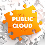 Public Cloud on Orange Puzzle.
