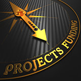 Projects Funding on Golden Compass Needle.