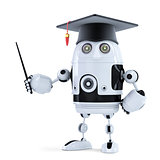Student robot with pointer