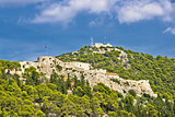 Fortica fortress in town of Hvar
