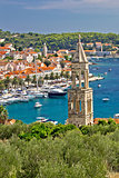 Town of Hvar yacht harbor