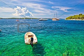 Paklinski Islands famous yachting and sailing destination