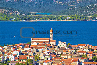 Adriatic town of Betina view