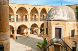 Buyuk Han (the Great Inn), largest caravansarai in Cyprus. Nicosia