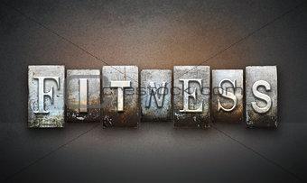 Fitness Letterpress