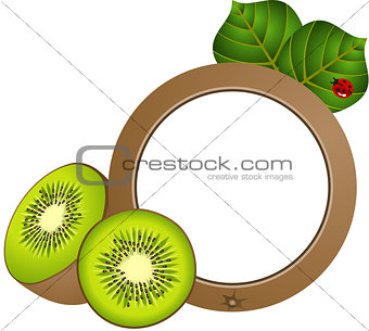 Kiwi Photo Frame