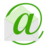the green email