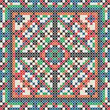 Decorative knit tile