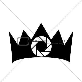 Crown photography logo