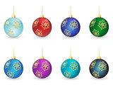 christmas balls set #3
