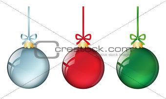 christmas balls set #1