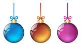 christmas balls set #2