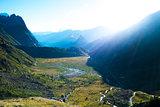 Dawn in Val Veny