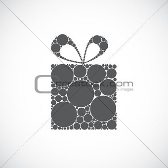 Beauty Gift Background Vector illustration