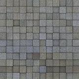 square mosaic tiled multiple gray grunge pattern
