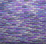 purple tile mosaic wall floor grunge stone 3d render