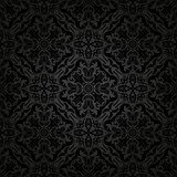 Orient Seamless Vector Pattern. Abstract Backgroundd