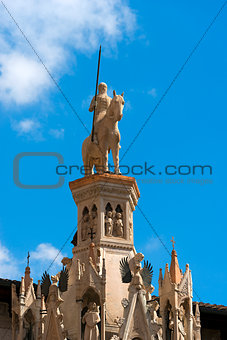 Arche Scaligere of Cansignorio - Verona Italy