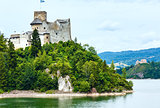 Niedzica Castle (or Dunajec Castle) summer view (Poland).
