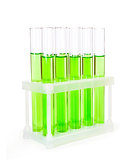 Laboratory glassware test tubes