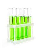 Laboratory glassware test tubes