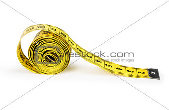 centimeter isolated on a white background