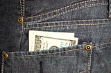 money in pocket