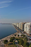 Thessaloniki waterfront Greece
