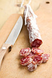white salami sausage