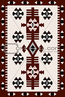 Carpet with Hungarian motifs