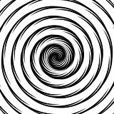 Design whirlpool movement illusion background