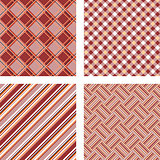 Design seamless colorful kitchen patterns set