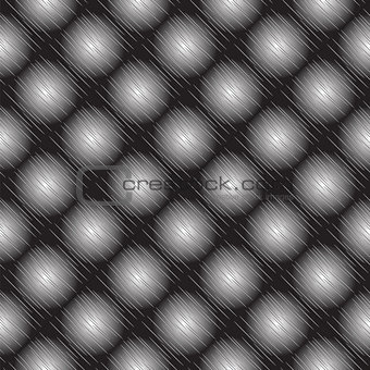 Abstract geometric monochrome background