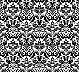 Orient Seamless  Pattern. Abstract Background